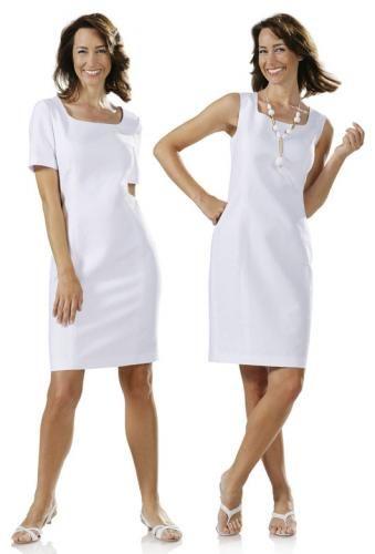 Patron robe droite simple