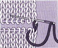 Couture au tricot