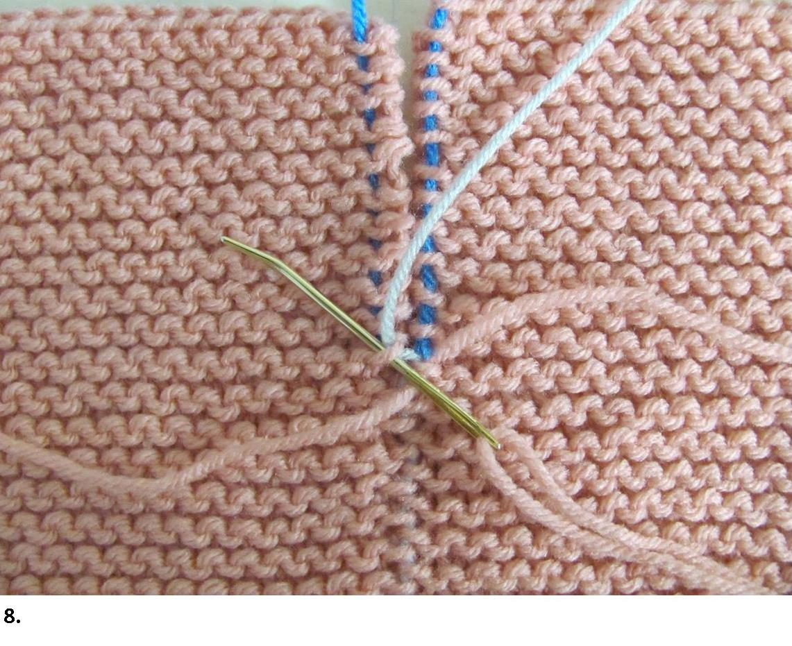 Point invisible tricot