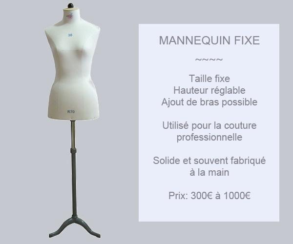 Acheter un mannequin de couture pas cher