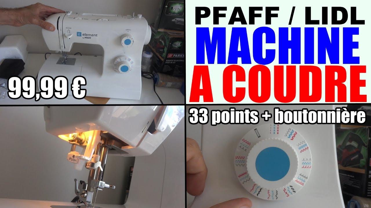 Lidl machine à coudre pfaff