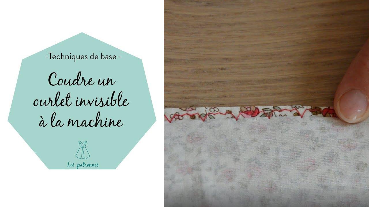 Comment faire une couture invisible