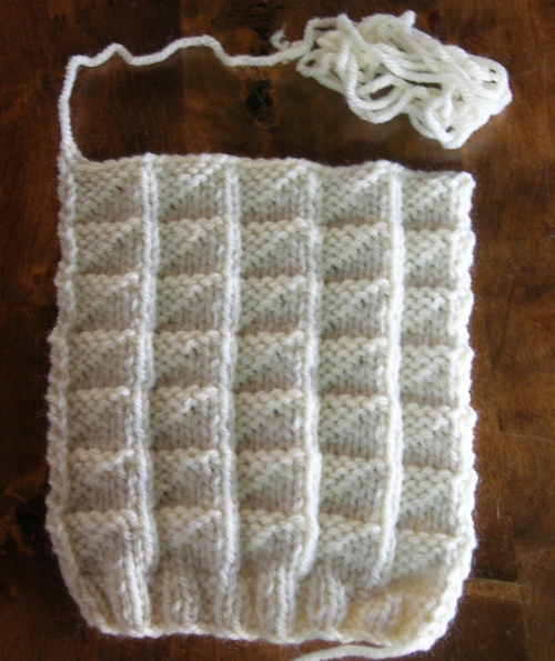Point fantaisie tricot facile
