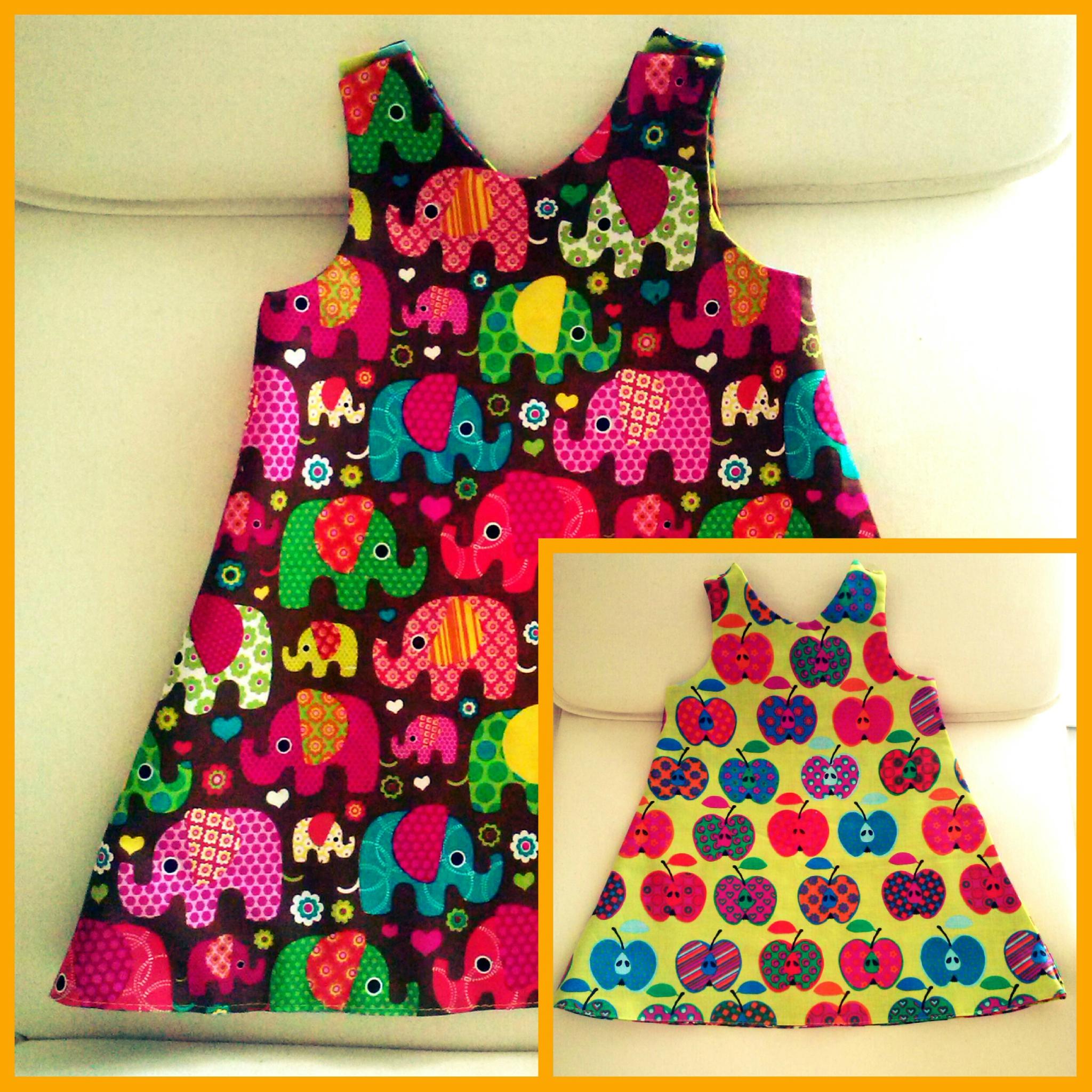 Tuto couture robe fillette facile