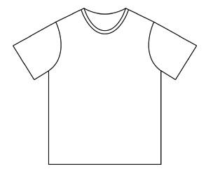 Patron tee shirt garçon