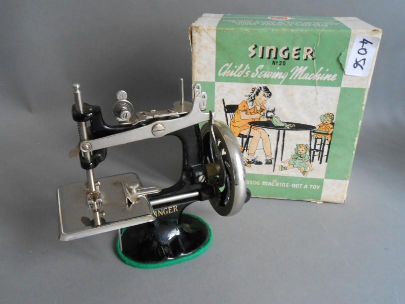 Singer machine à coudre enfant