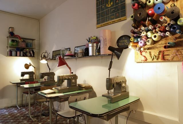 Atelier de couture a paris
