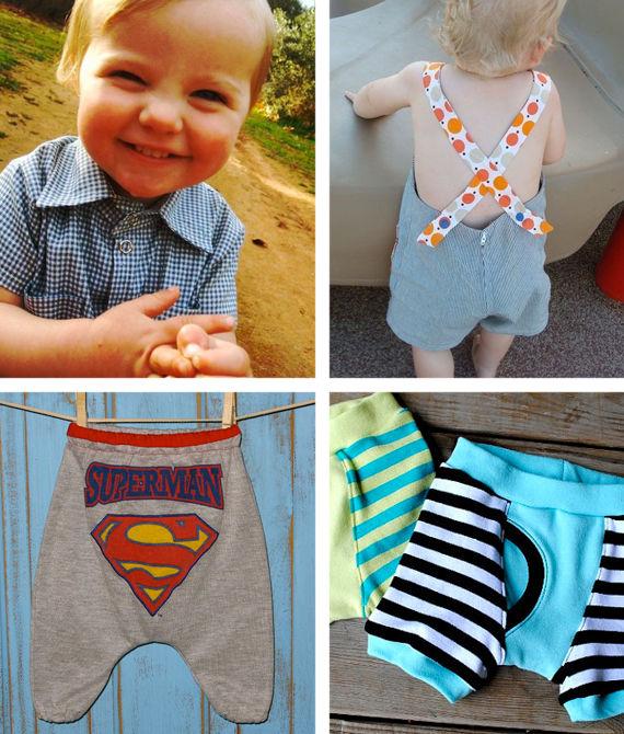 Couture pour bébé garçon