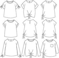Tuto tee shirt enfant