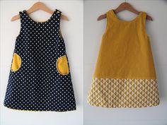 Coudre une robe pour petite fille