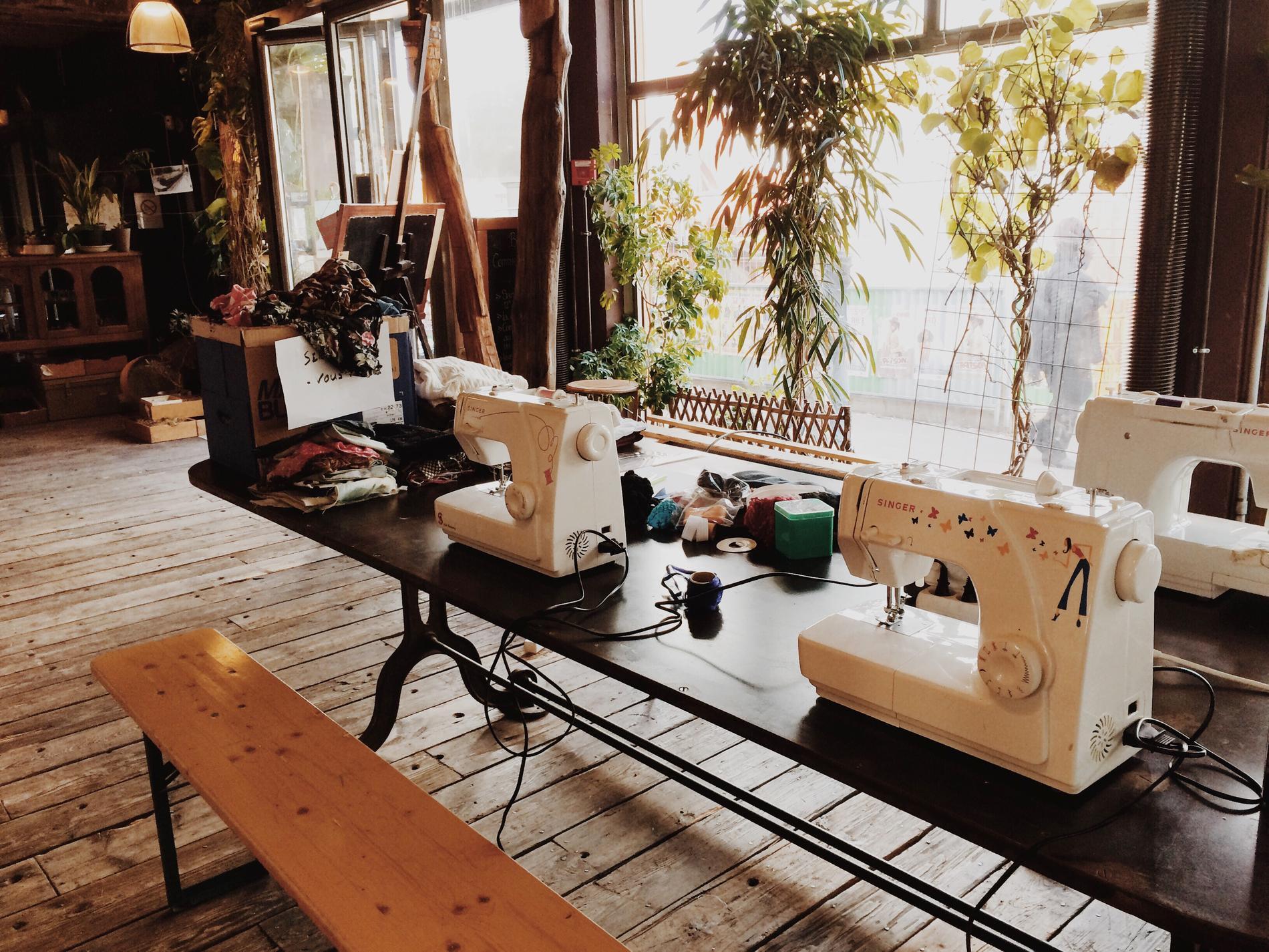 Atelier de couture singer