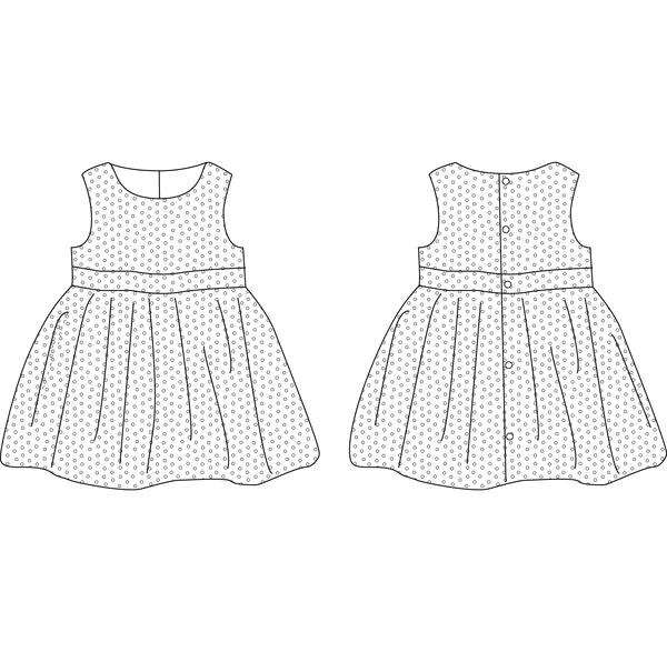 Coudre une robe fillette