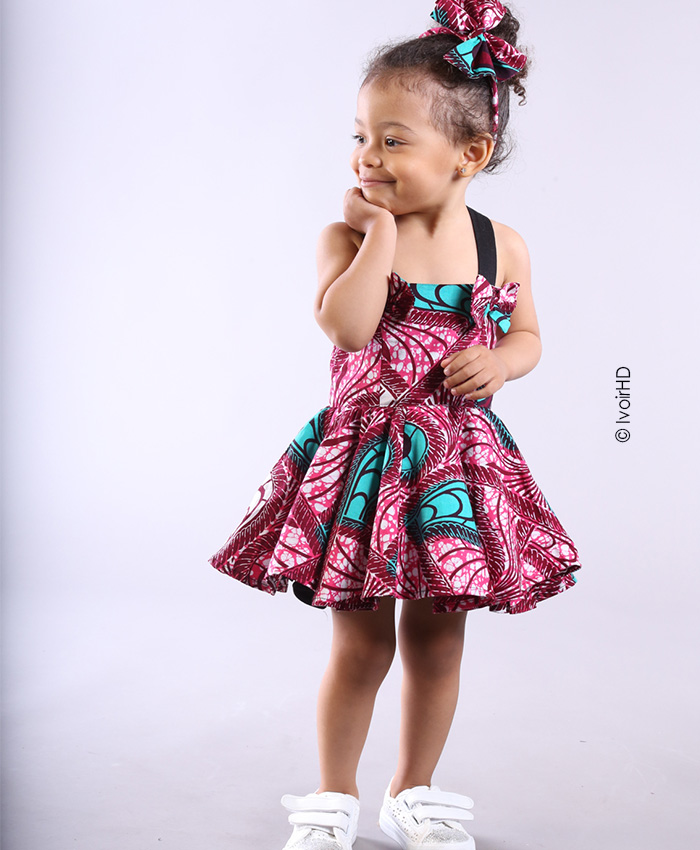 Couture africaine enfant
