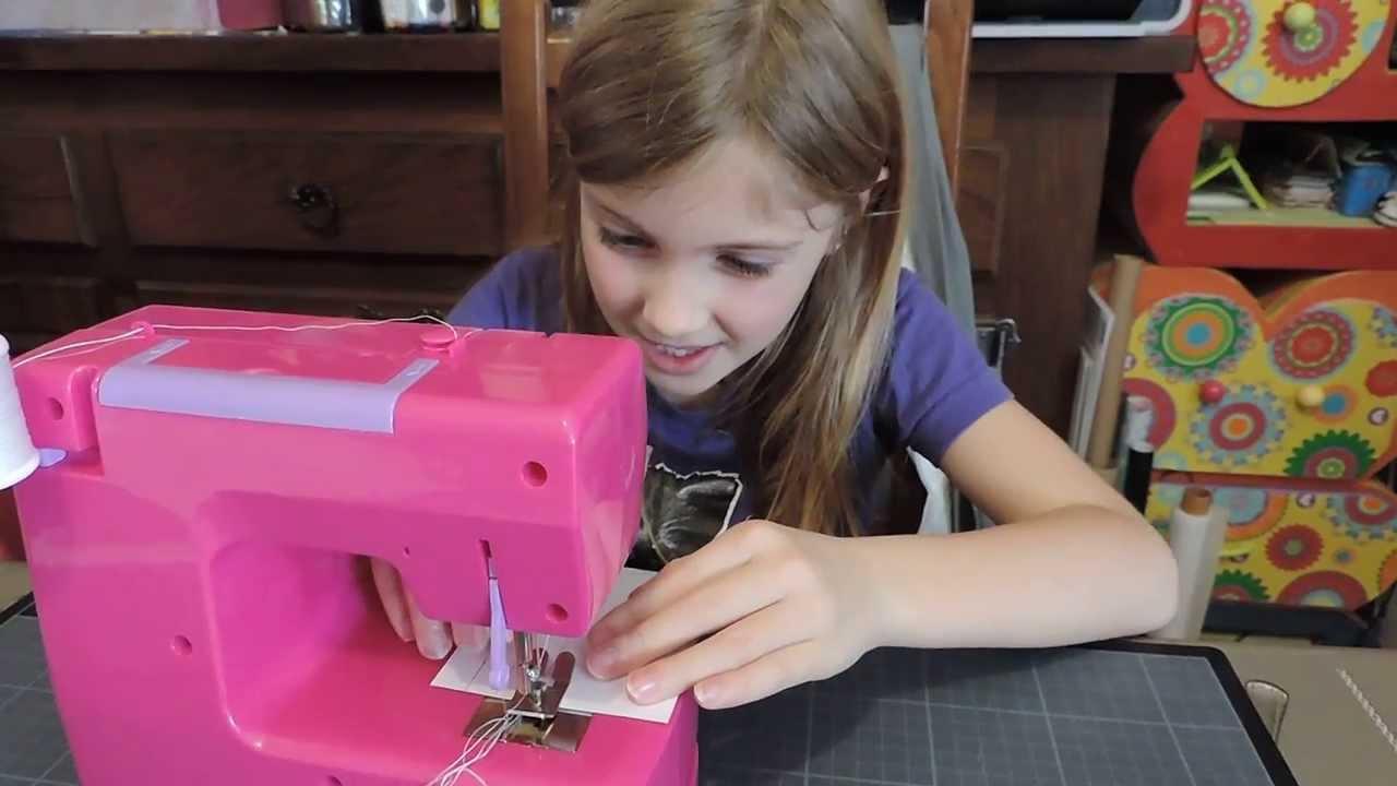 Machine a coudre pour fille de 9 ans