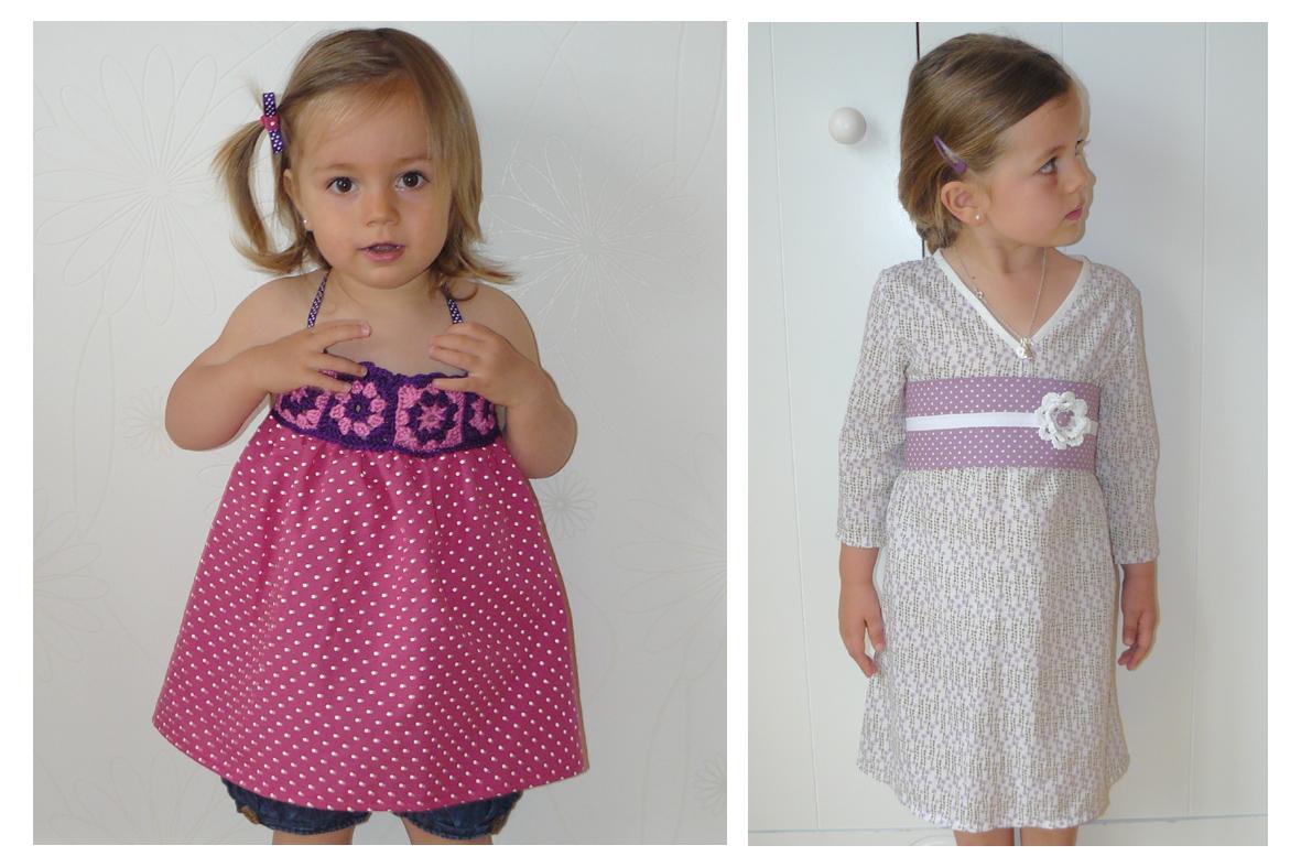 Tuto robe fille 3 ans