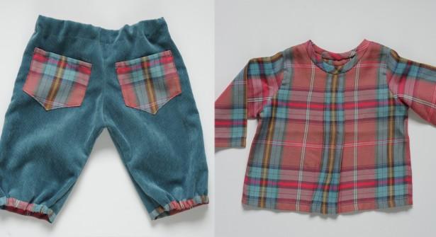 Patron couture pantalon bébé gratuit