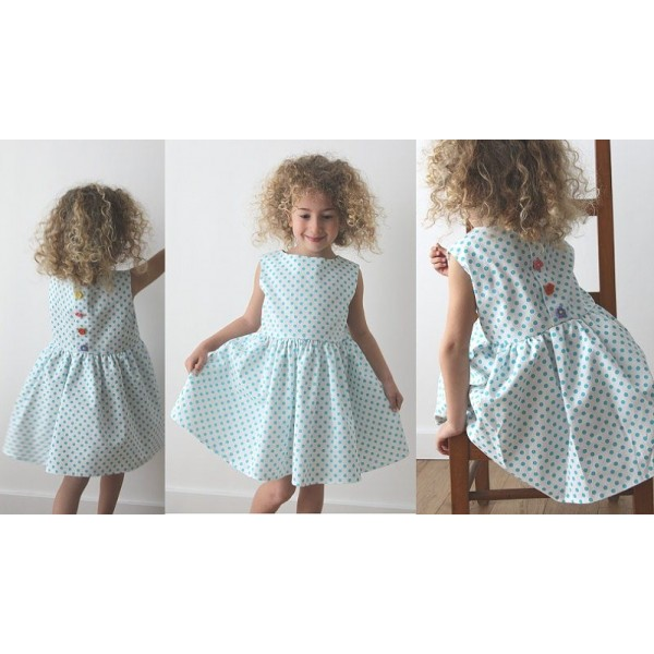 Tuto robe fille 4 ans