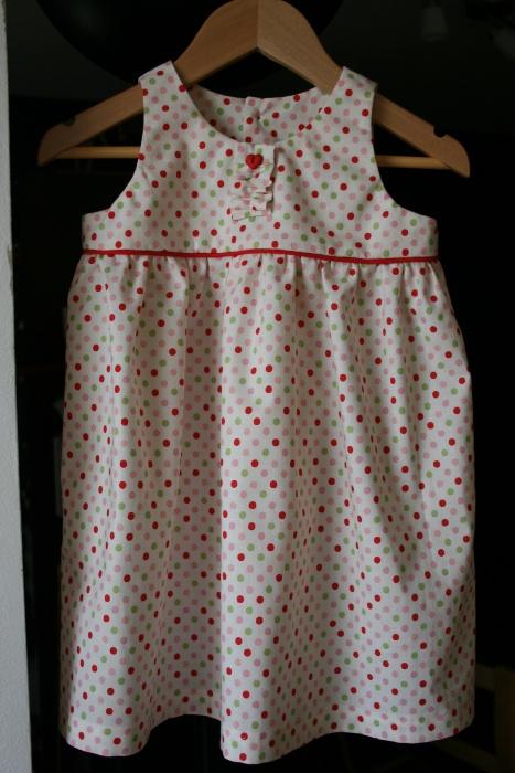 Robe bébé couture