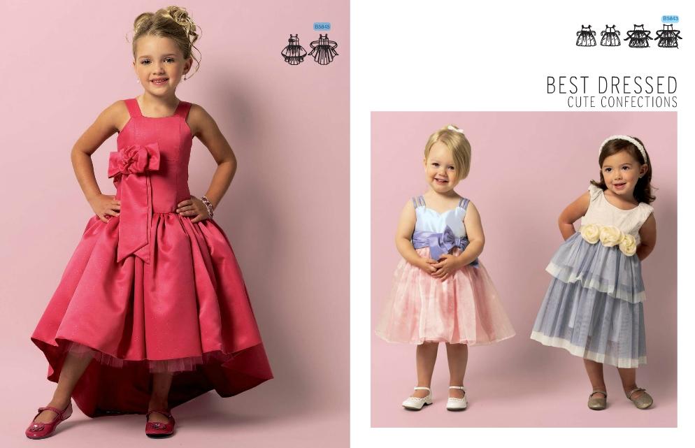 Coudre robe fillette