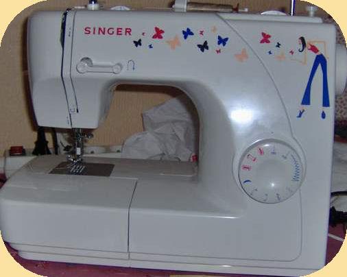 Singer machine à coudre mademoiselle