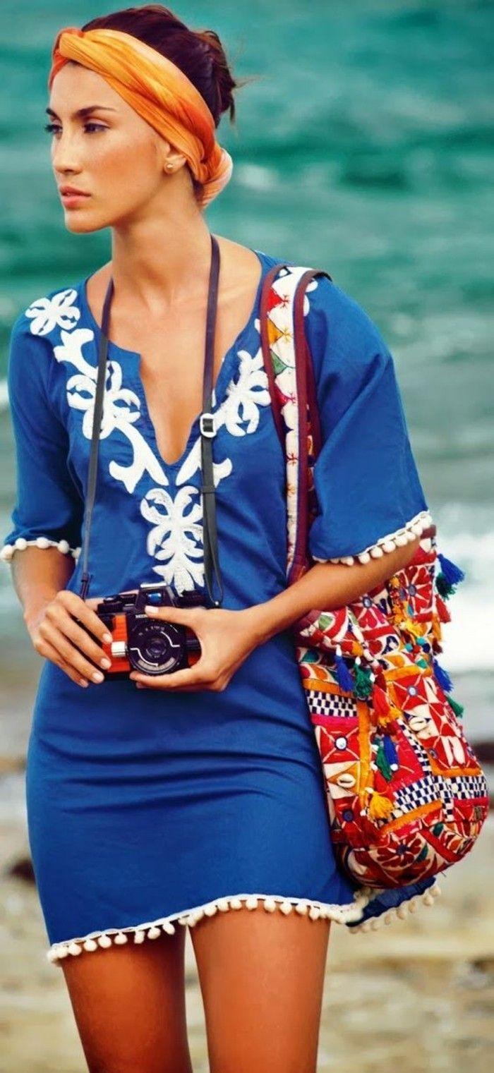 Tunique ou robe de plage