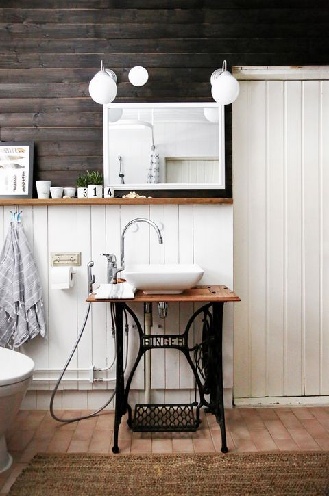 Vasque machine à coudre