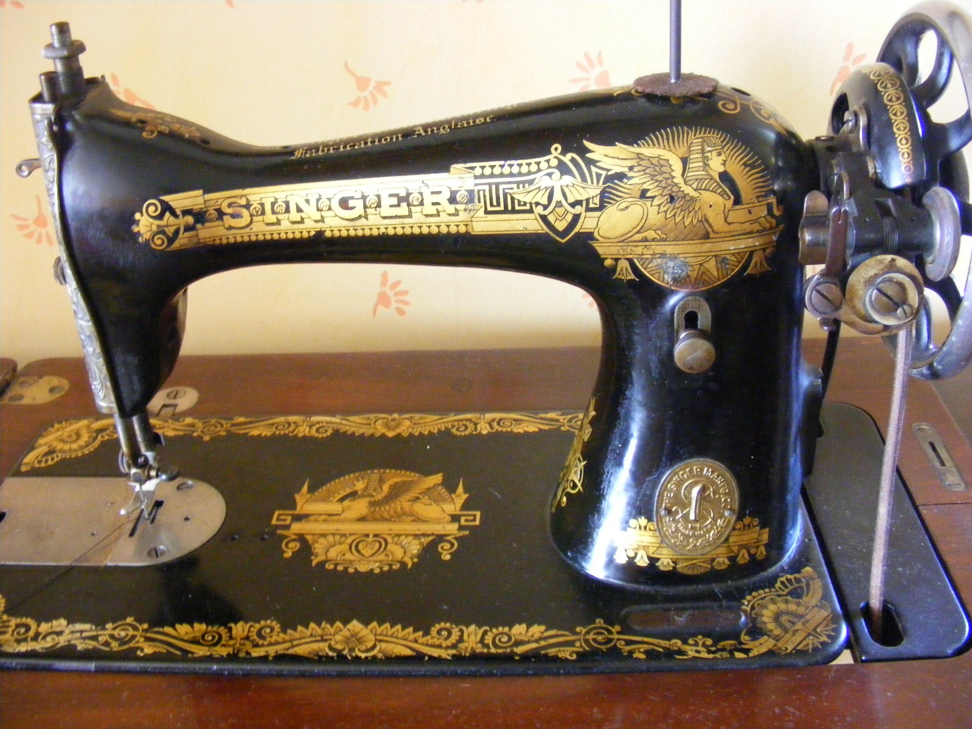 Machine a coudre singer ancienne 1900 prix