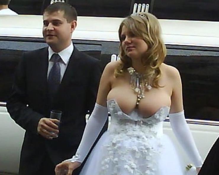 16 robes de mariée qui n'auraient jamais du exister