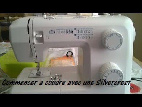 Vidéo machine à coudre silvercrest