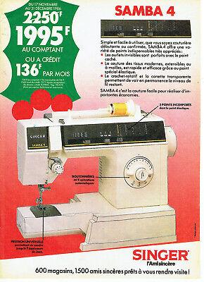 Machine a coudre singer 1984