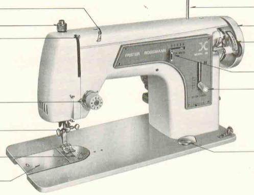 Machine a coudre frister et rossmann