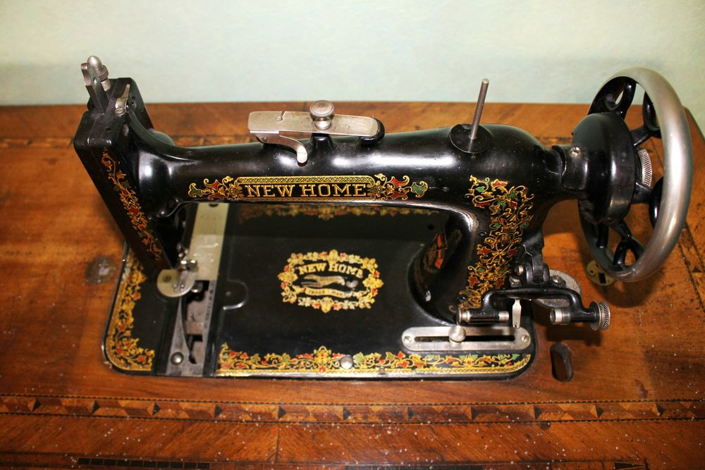 Machine a coudre ancienne newhome