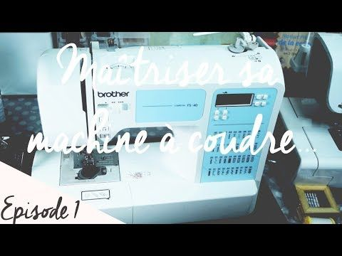 Machine a coudre brother fs 40 youtube