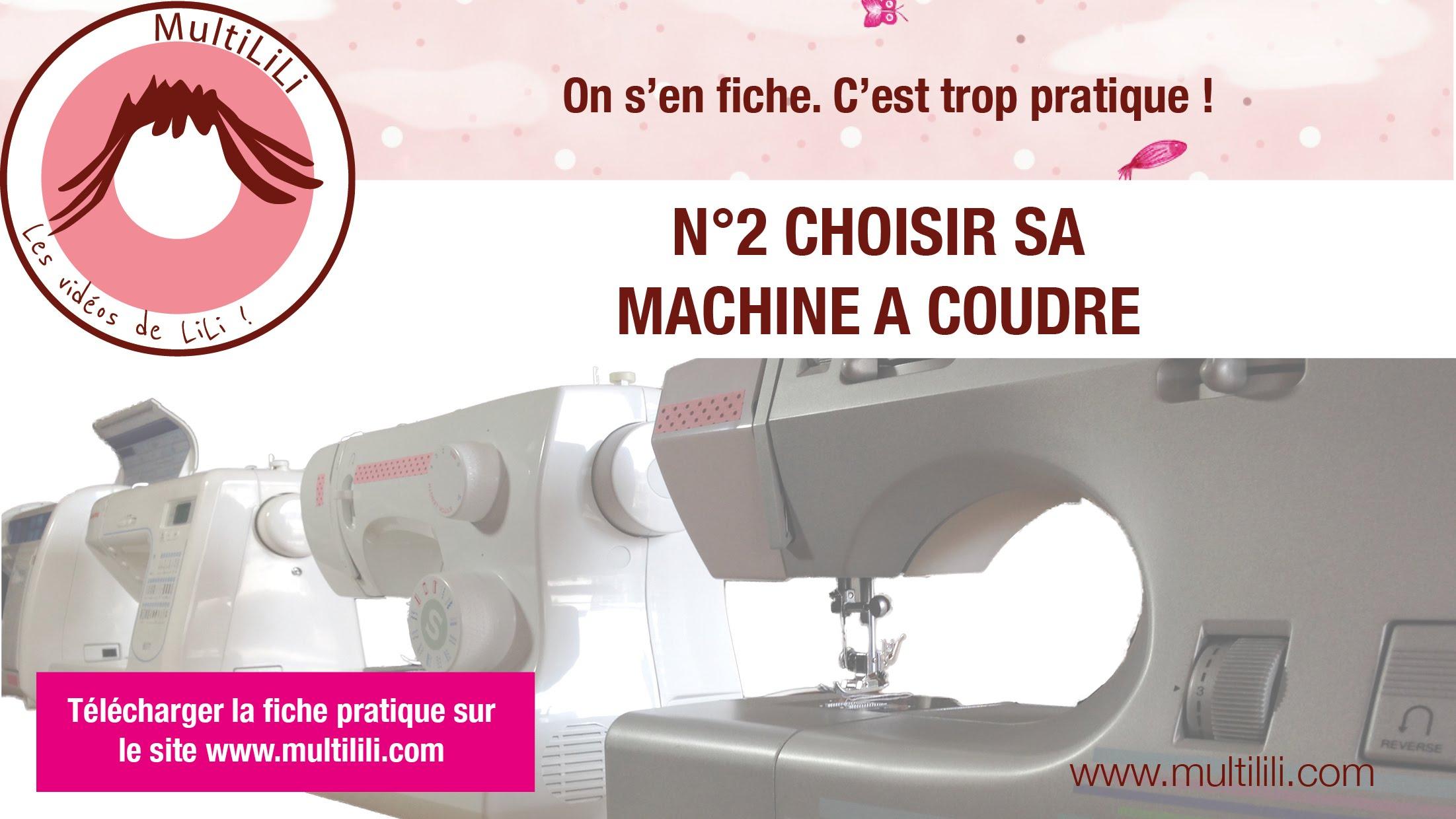 Choix machine a coudre 2017