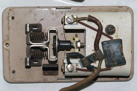 Condensateur pedale machine a coudre