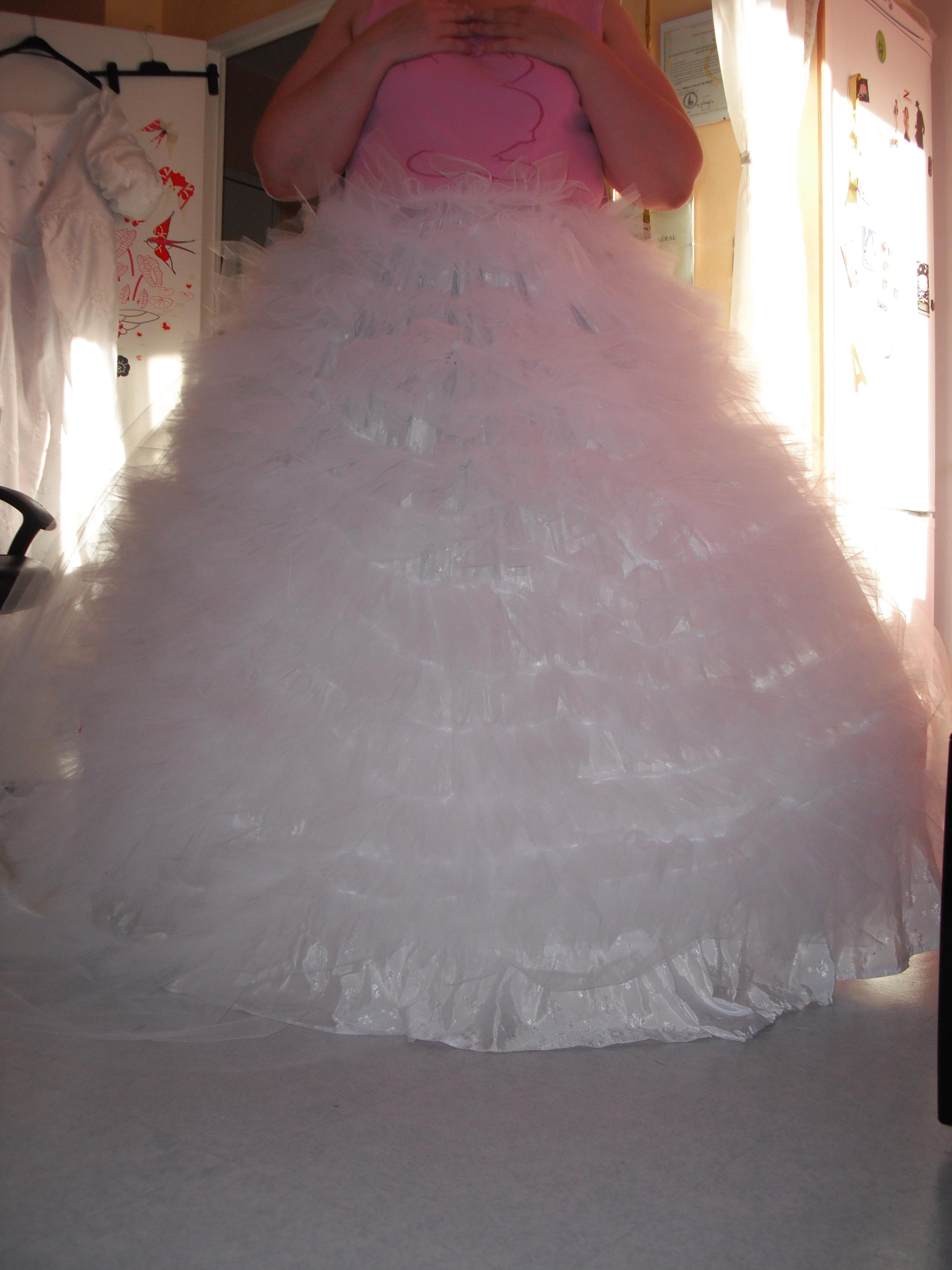 Comment repasser robe de mariée