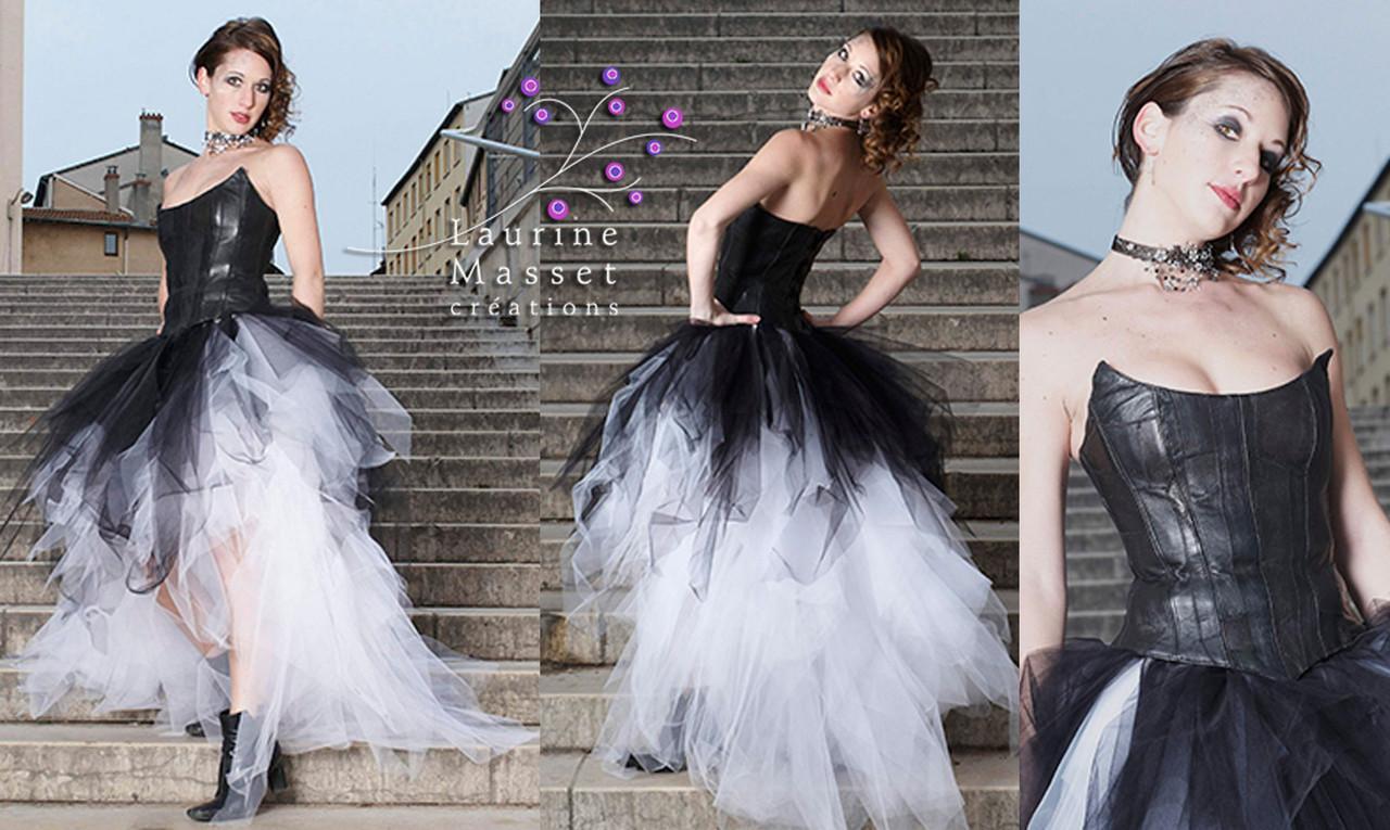 nuances de couleur attrayante courir chaussures Robes de mariée rock n roll - beautycouture.fr