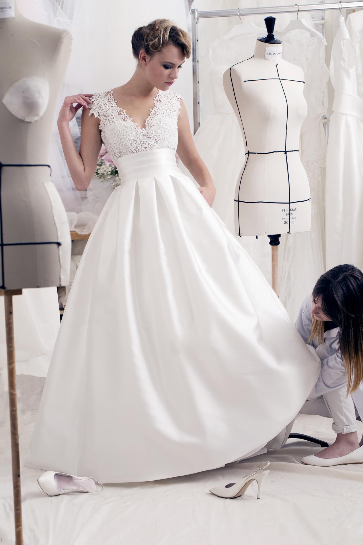 Comment customiser robe de mariée