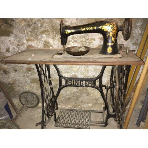 Machine a coudre singer encastrable