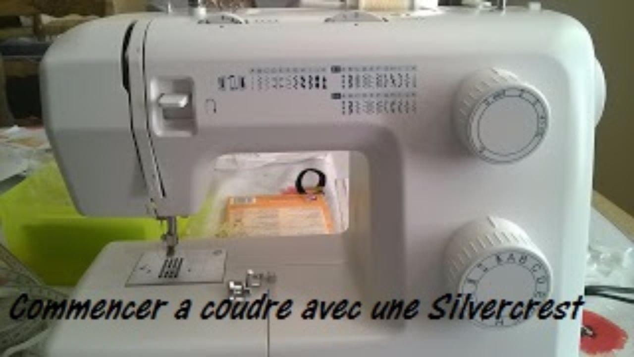 Comment utiliser une machine à coudre silvercrest