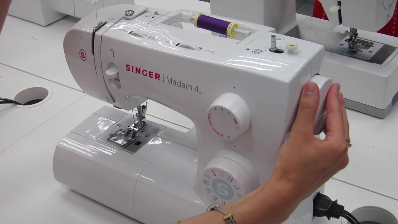 Comment enfiler une machine a coudre singer samba 4