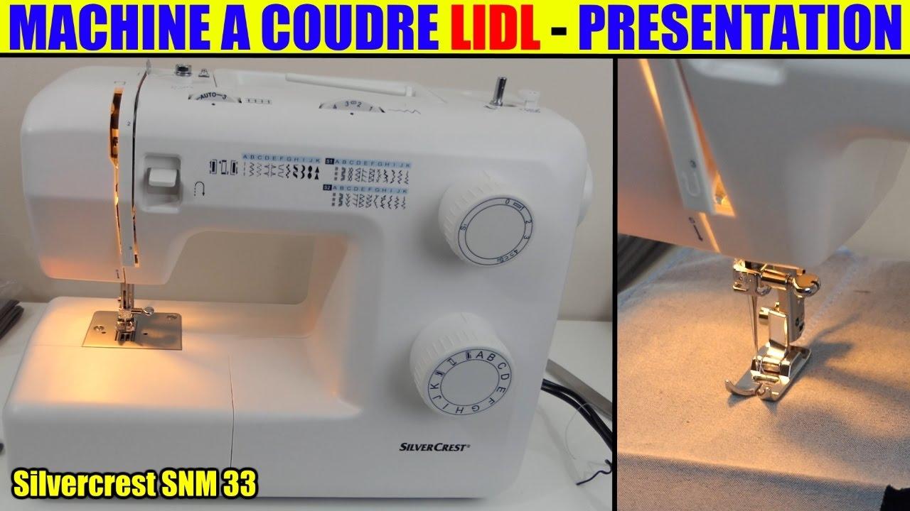 Silvercrest® machine à coudre