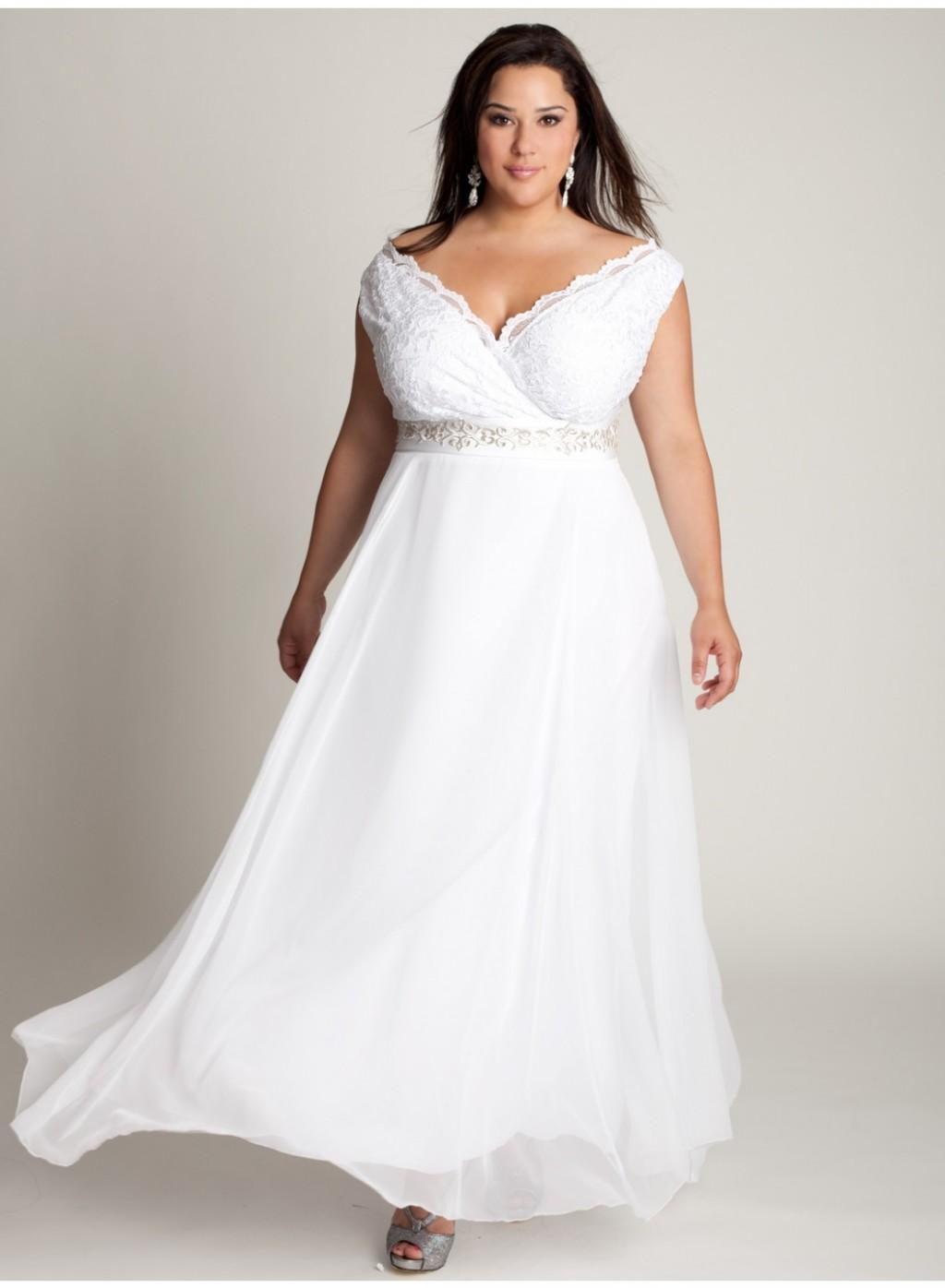 Robes de mariée grande taille pas cher