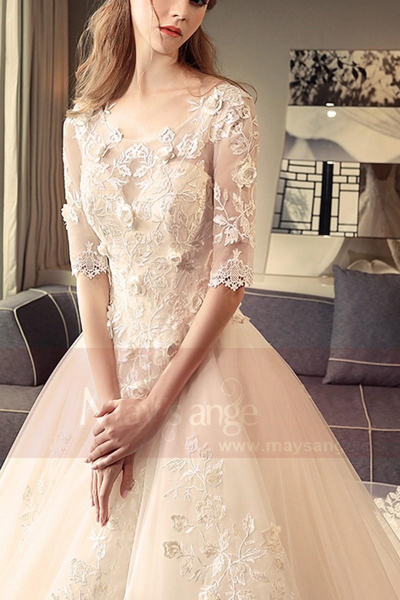 Robe de mariée ecru