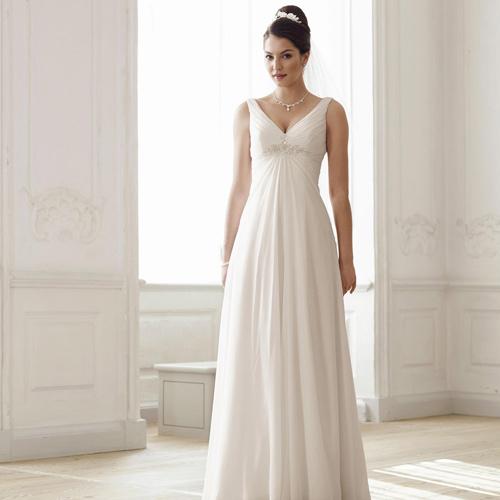 Robes de mariée ronde