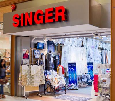 Magasin de machine à coudre singer