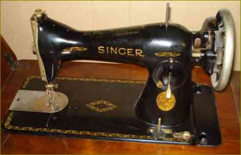 Ancienne machine a coudre singer 15b