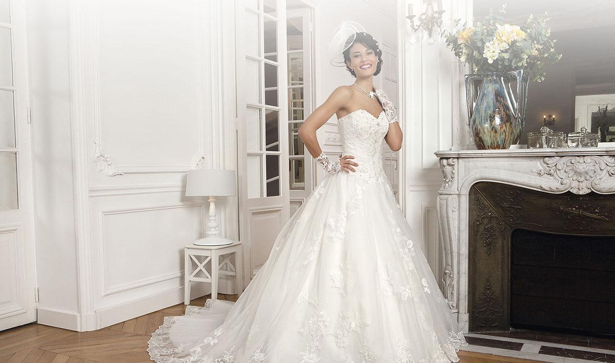 Robe de mariée grand couturier