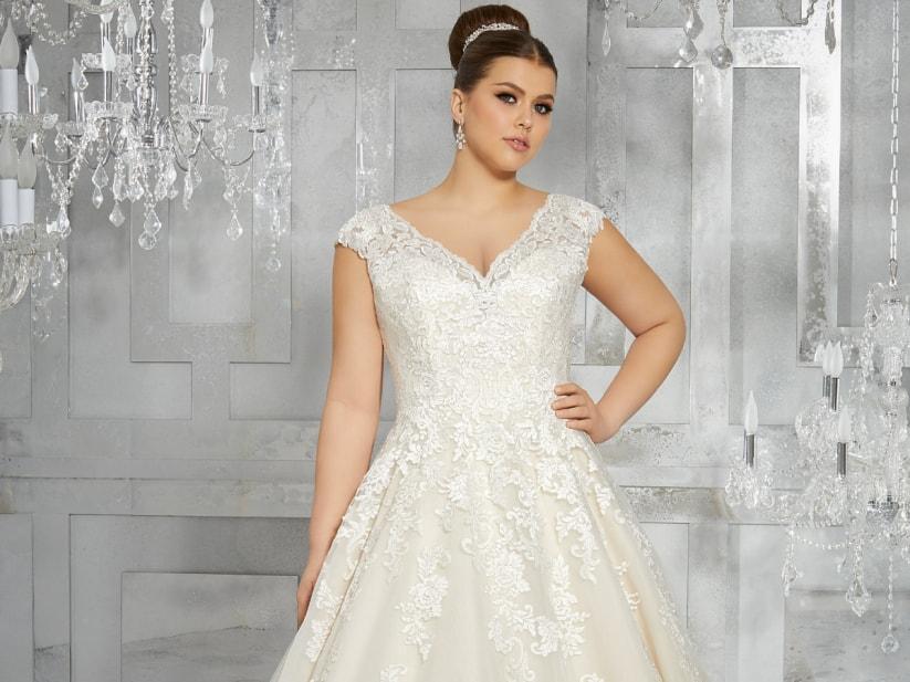 Quel robe de mariée pour femme ronde